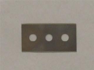 Scraper | Ceramic hob replacement blades pk10 Size 43x22mm | Part No:481281728162