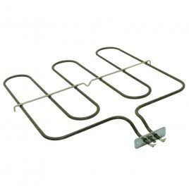 Base Oven Element | Bottom Heater. 1000w, L 400mm, W 335mm, Cross Bar 365mm, Bracket 70mm, Tags 25mm | Part No:062058004